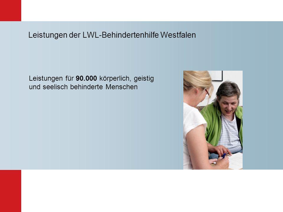 Leistungen der LWL-Behindertenhilfe Westfalen