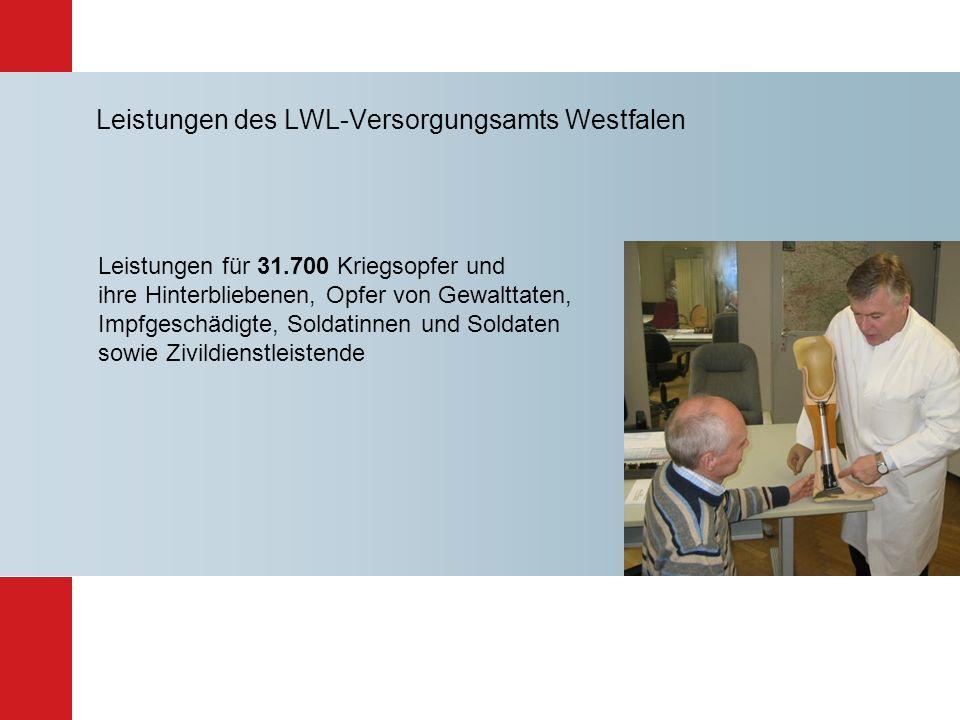 Leistungen des LWL-Versorgungsamts Westfalen
