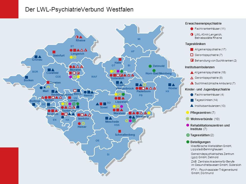 Der LWL-PsychiatrieVerbund Westfalen