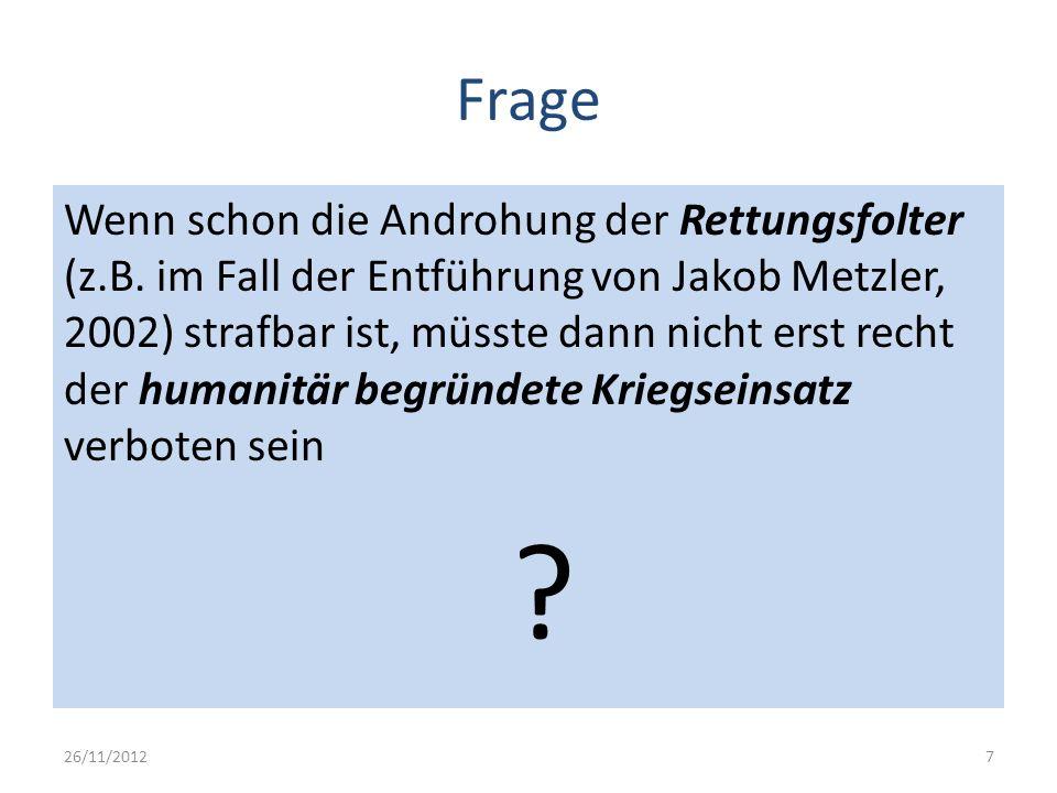 Frage