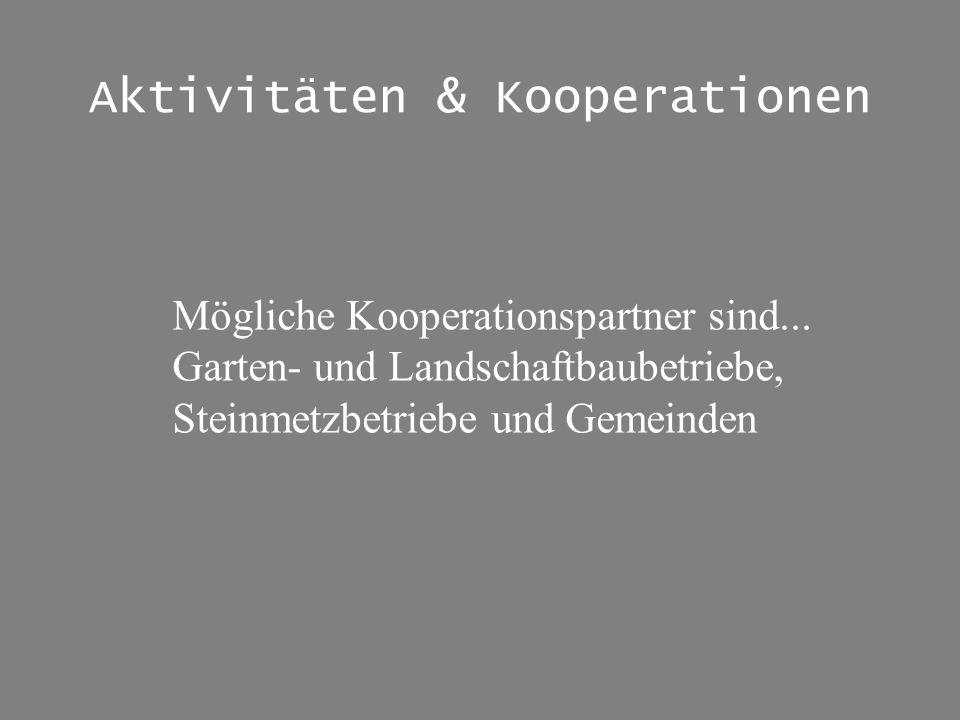 Aktivitäten & Kooperationen