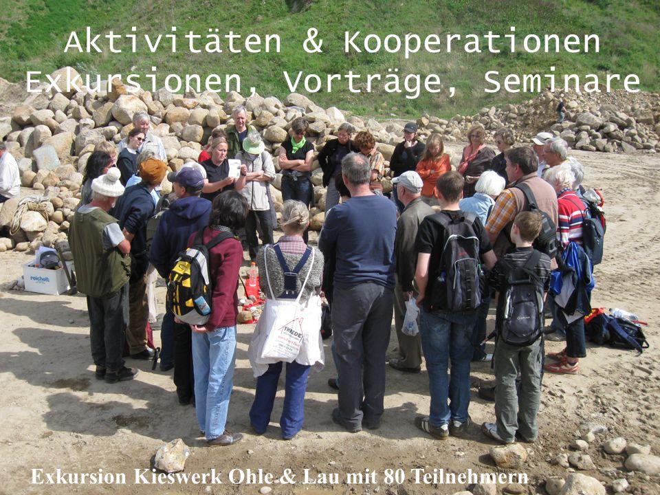 Aktivitäten & Kooperationen Exkursionen, Vorträge, Seminare