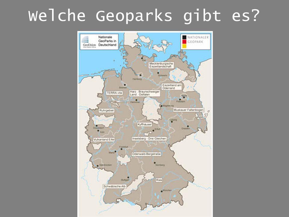 Welche Geoparks gibt es
