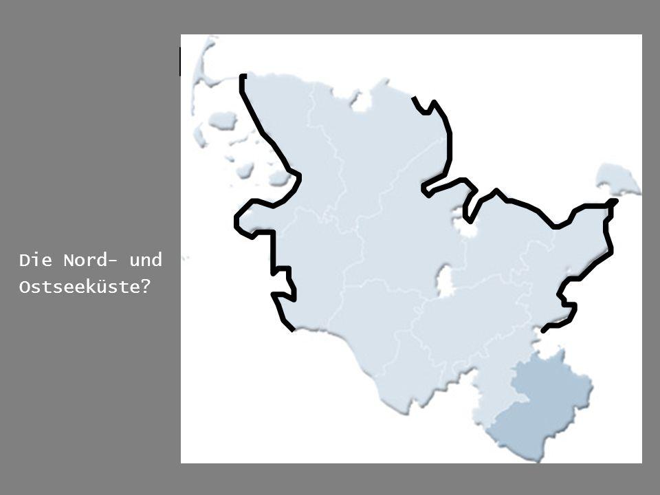 Karte der Region Die Nord- und Ostseeküste