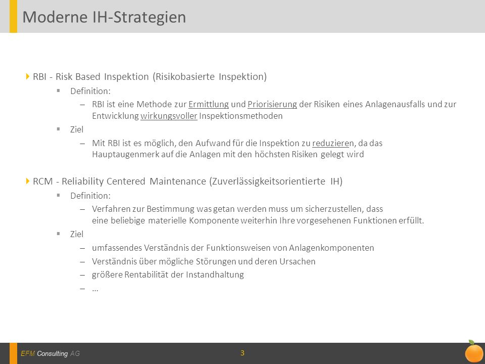 Moderne IH-Strategien