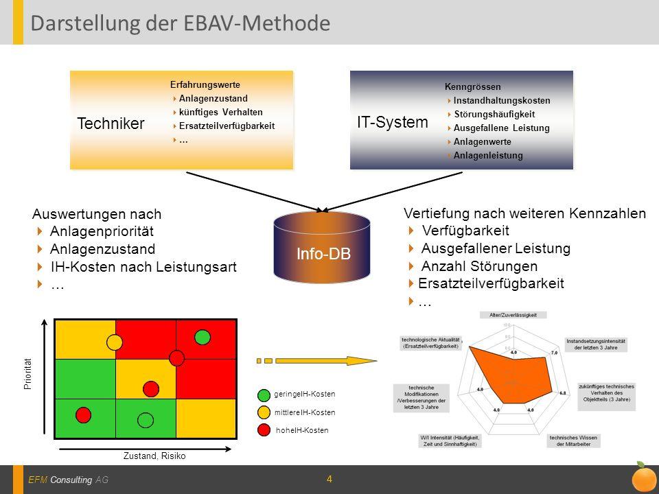 Darstellung der EBAV-Methode