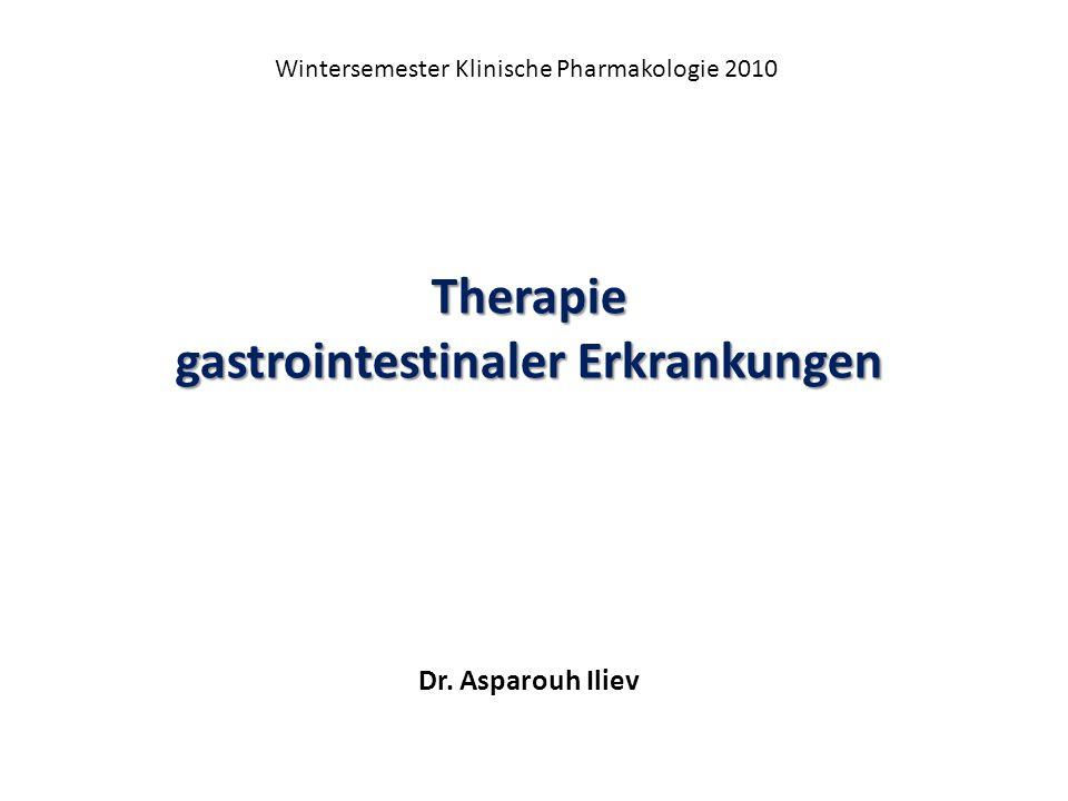 gastrointestinaler Erkrankungen