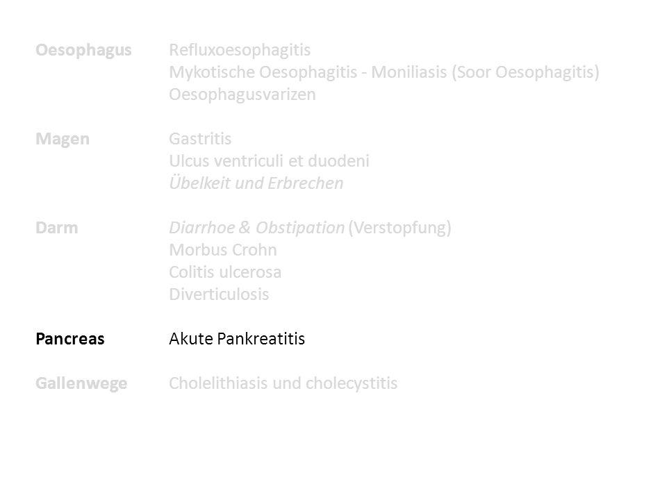Oesophagus Refluxoesophagitis