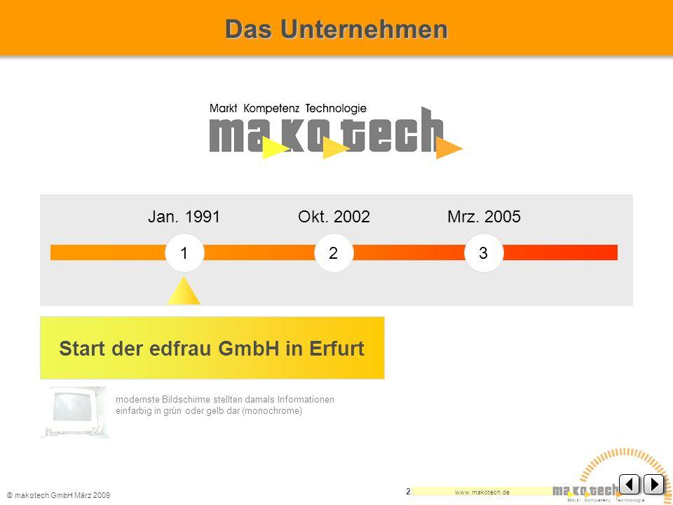 Start der edfrau GmbH in Erfurt