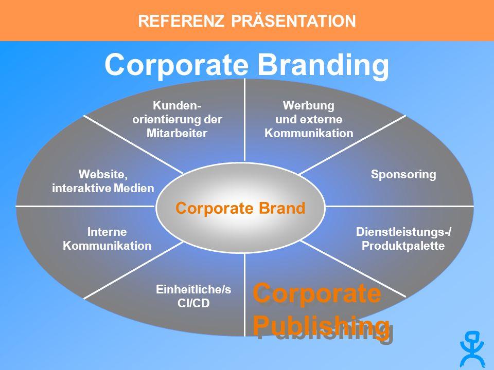 Corporate Branding Corporate Publishing REFERENZ PRÄSENTATION