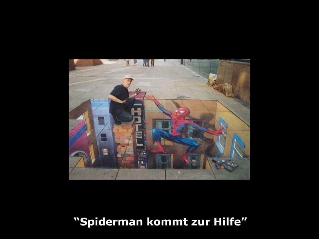 Spiderman kommt zur Hilfe