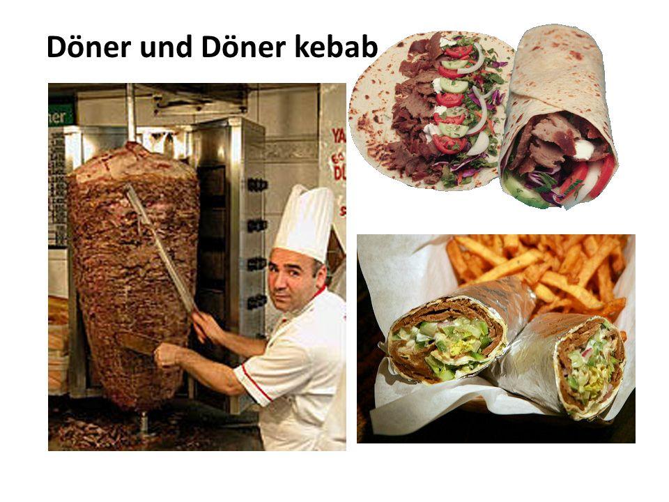 Döner und Döner kebab