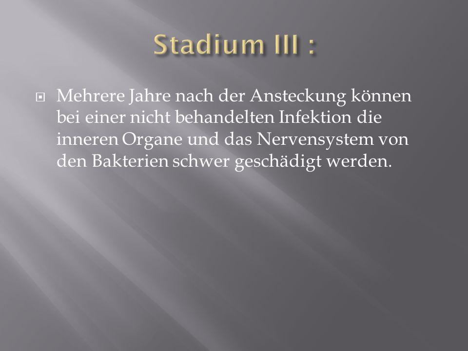 Stadium III :