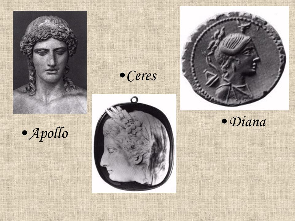Ceres Diana Apollo