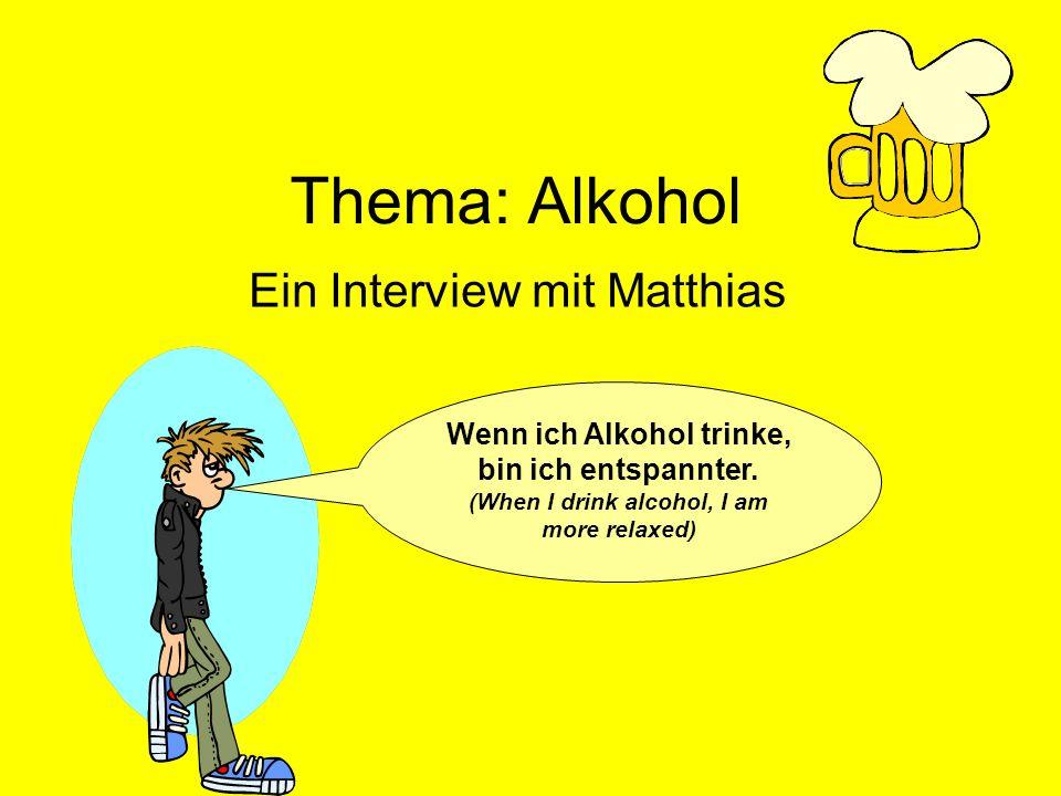 Ein Interview mit Matthias