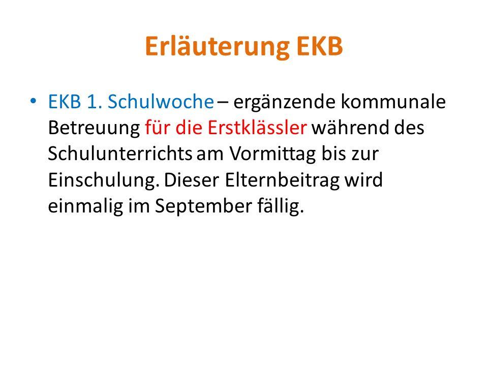 Erläuterung EKB