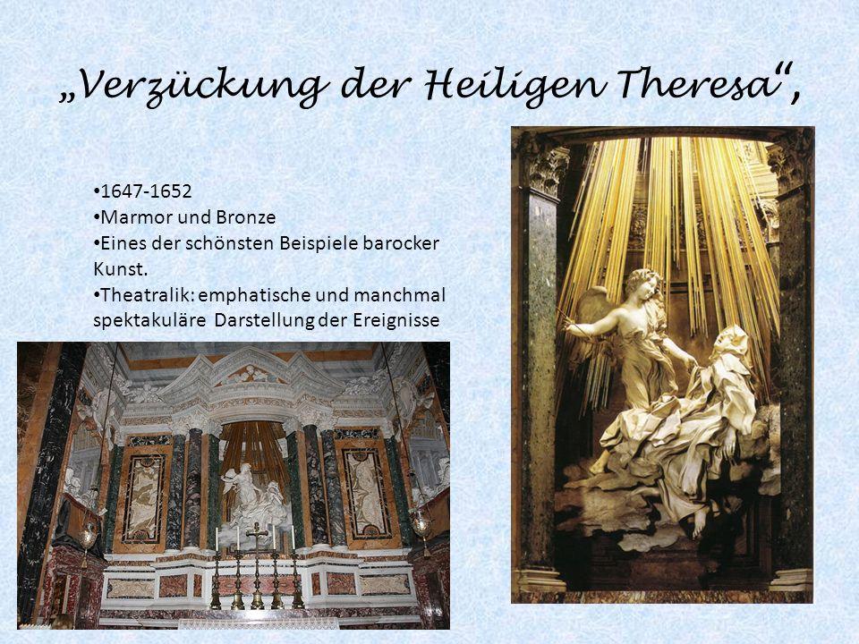 """""""Verzückung der Heiligen Theresa ,"""