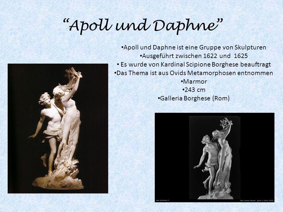 Apoll und Daphne Apoll und Daphne ist eine Gruppe von Skulpturen
