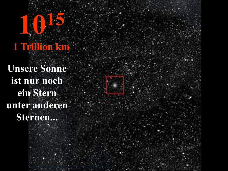 Unsere Sonne ist nur noch ein Stern unter anderen Sternen...