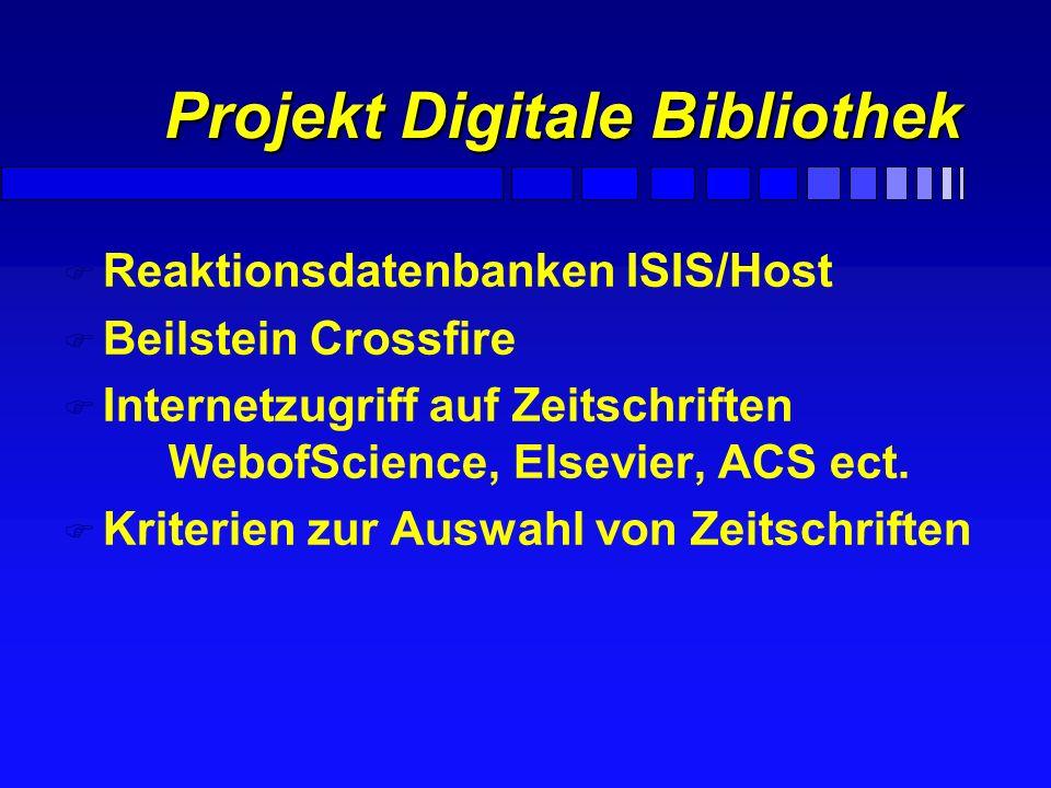 Projekt Digitale Bibliothek
