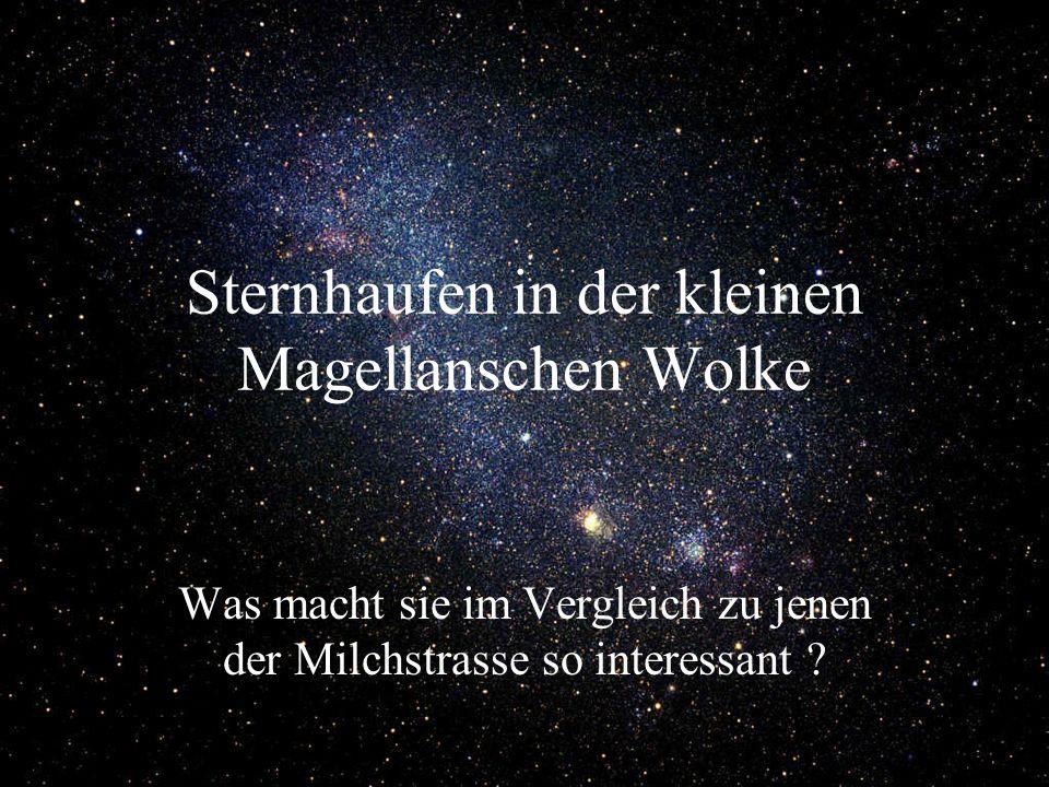 Sternhaufen in der kleinen Magellanschen Wolke