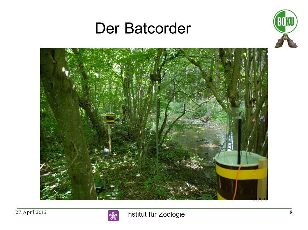 Der Batcorder Kolberg 27.April.2012