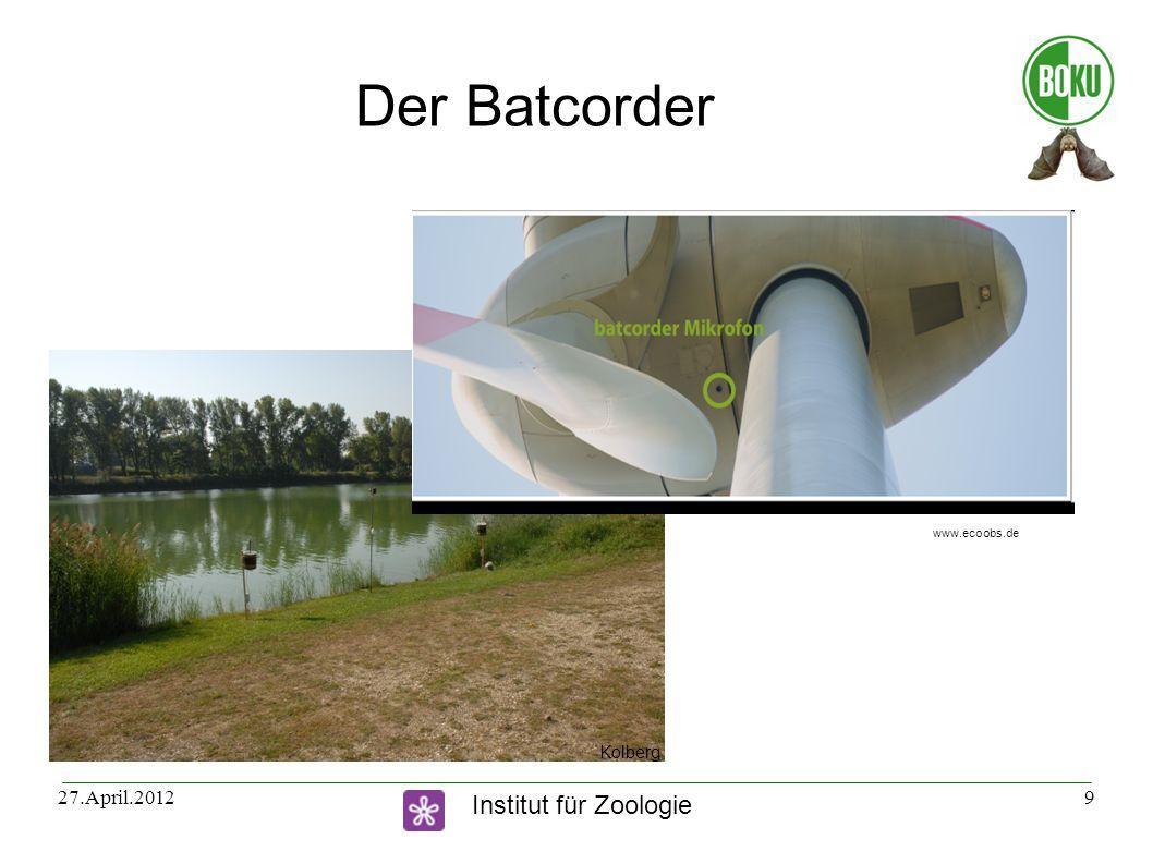 Der Batcorder www.ecoobs.de Kolberg 27.April.2012