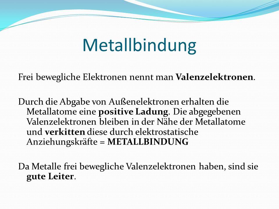 Metallbindung