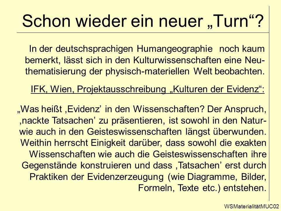 """Schon wieder ein neuer """"Turn"""