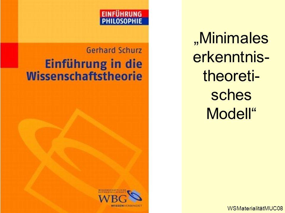"""""""Minimales erkenntnis-theoreti-sches Modell"""
