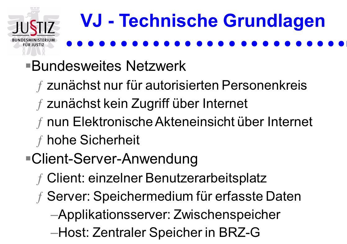 VJ - Technische Grundlagen