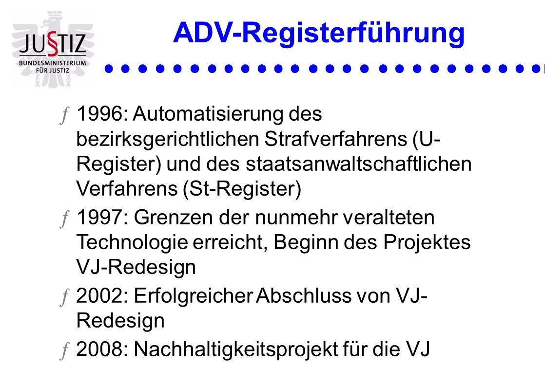ADV-Registerführung