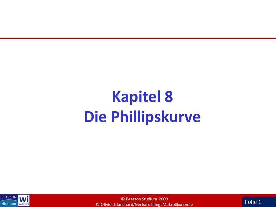 Kapitel 8 Die Phillipskurve