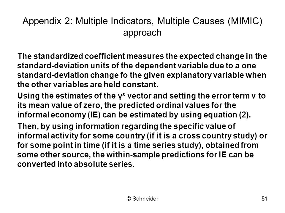 Appendix 2: Multiple Indicators, Multiple Causes (MIMIC) approach