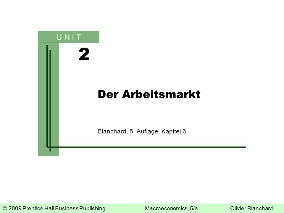 Der Arbeitsmarkt Blanchard, 5. Auflage, Kapitel 6