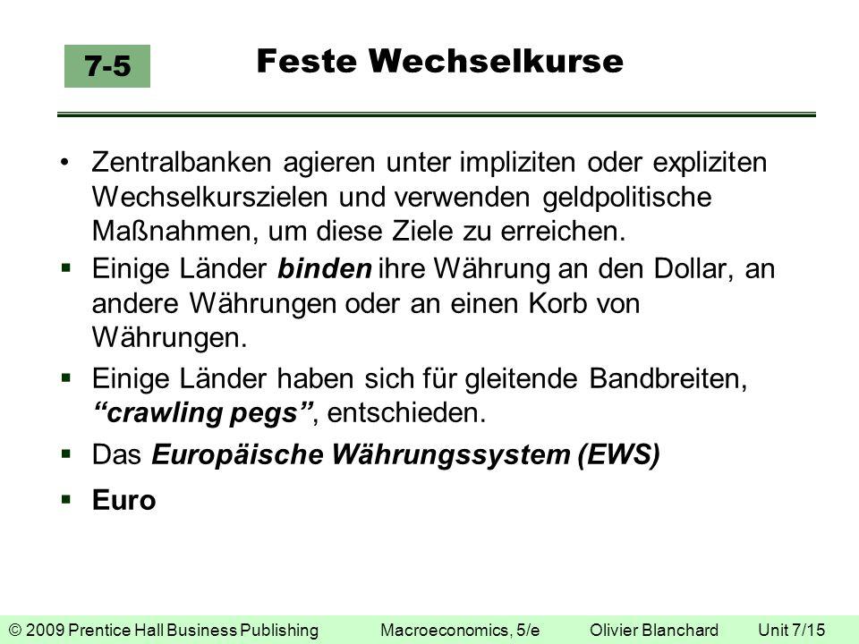 Feste Wechselkurse 7-5.