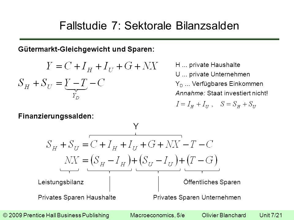 Fallstudie 7: Sektorale Bilanzsalden