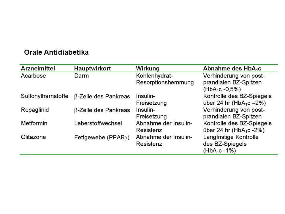 Orale Antidiabetika
