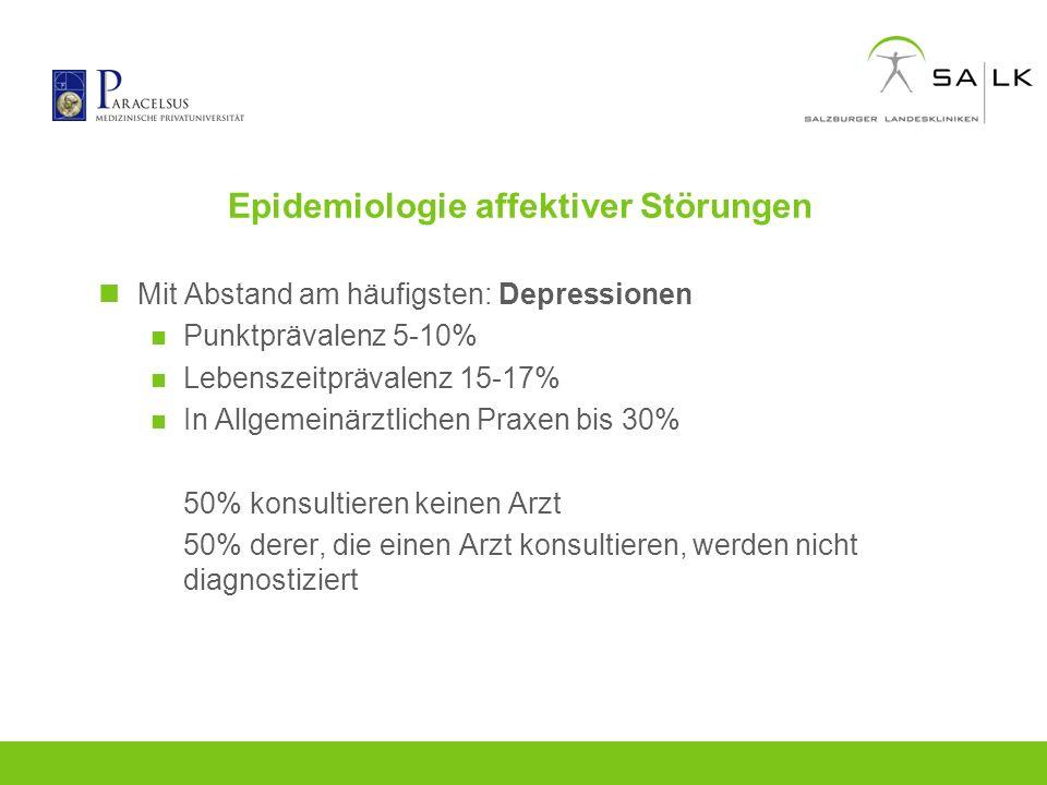 Epidemiologie affektiver Störungen