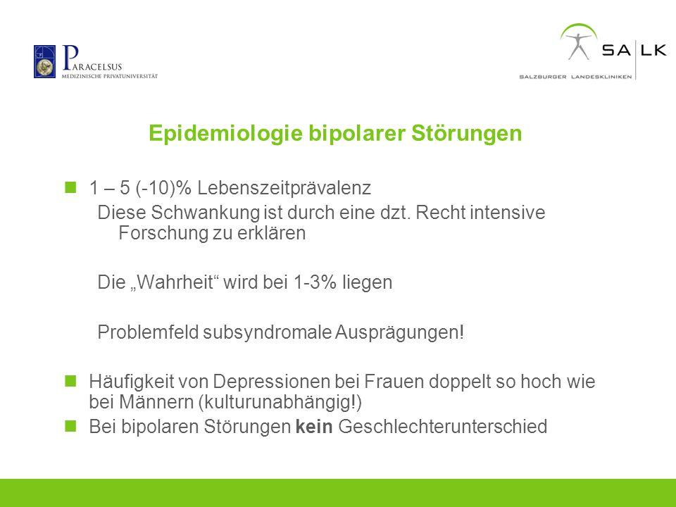 Epidemiologie bipolarer Störungen