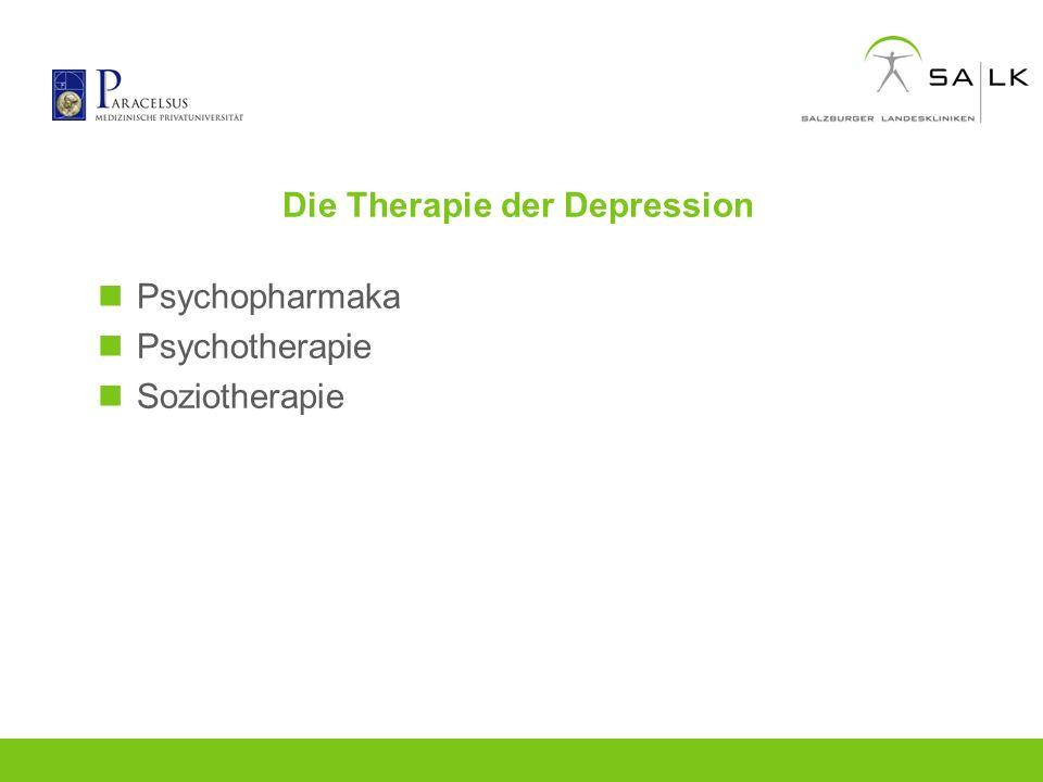 Die Therapie der Depression
