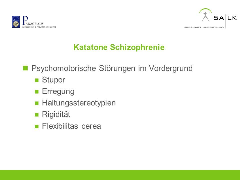 Katatone Schizophrenie
