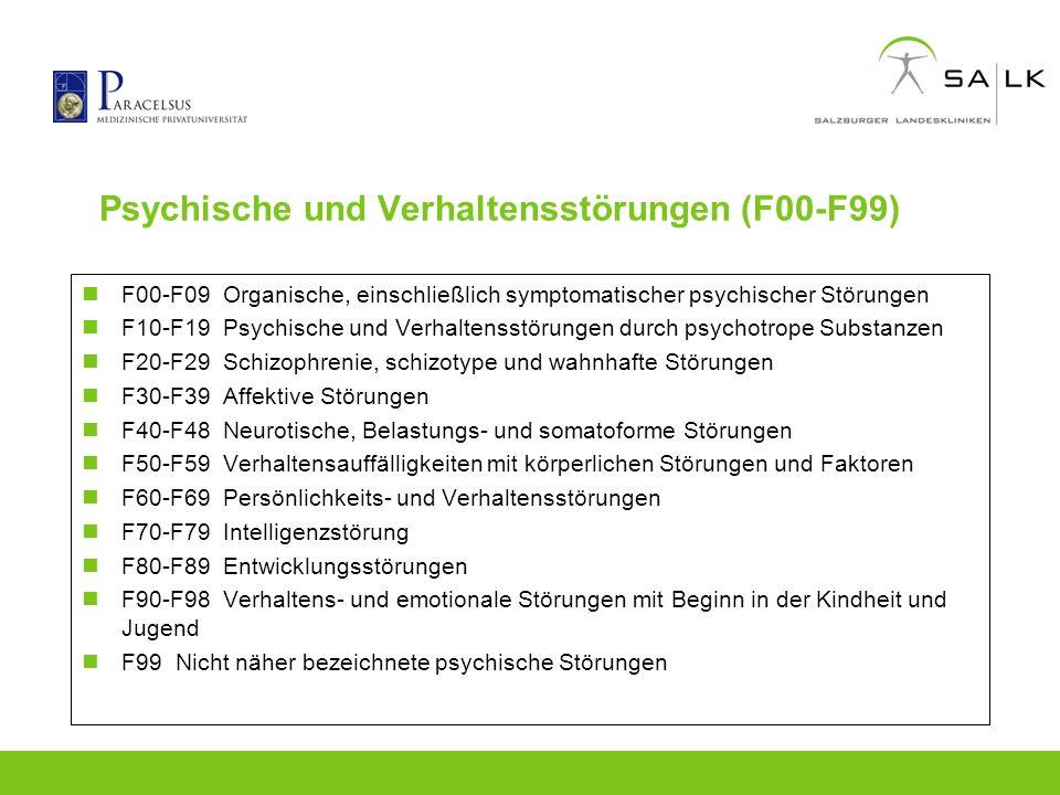 Psychische und Verhaltensstörungen (F00-F99)