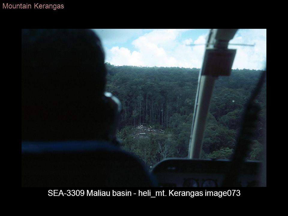 SEA-3309 Maliau basin - heli_mt. Kerangas image073