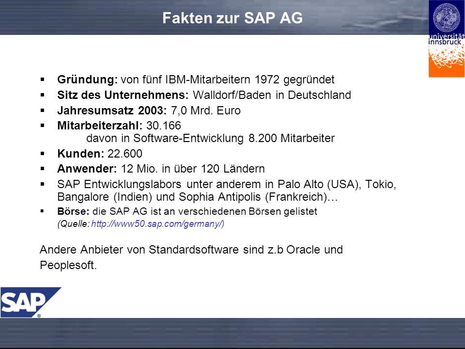 Fakten zur SAP AG Gründung: von fünf IBM-Mitarbeitern 1972 gegründet