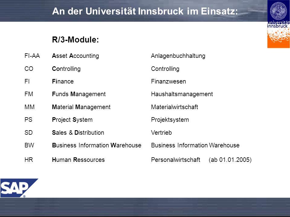 An der Universität Innsbruck im Einsatz: