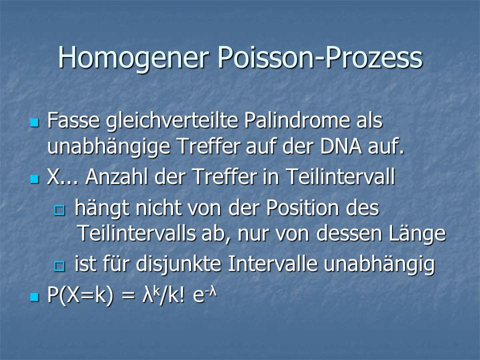 Homogener Poisson-Prozess