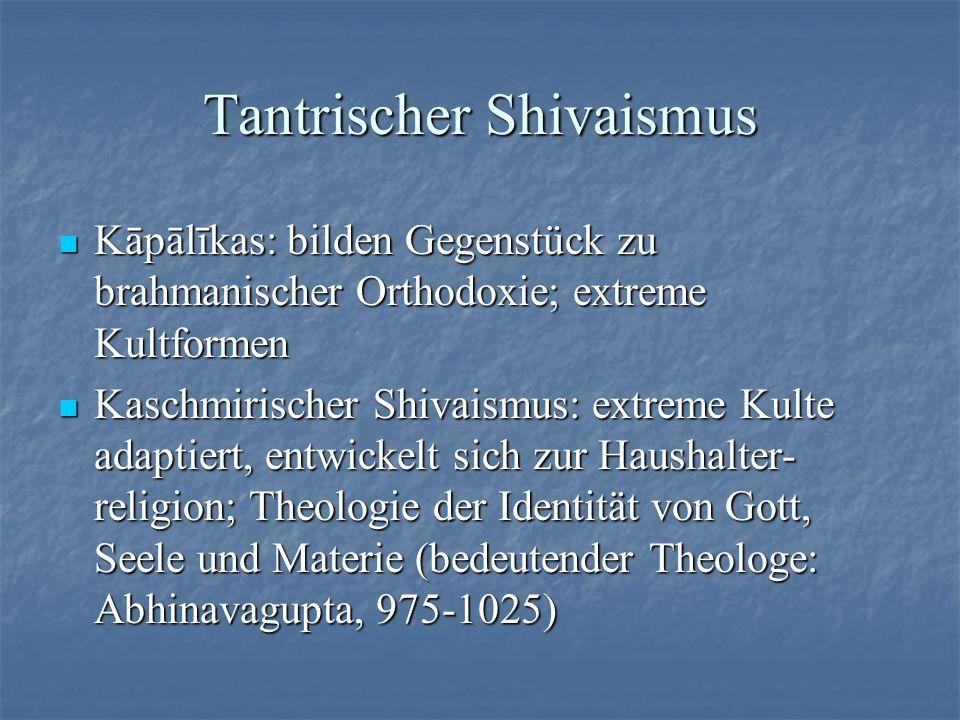 Tantrischer Shivaismus