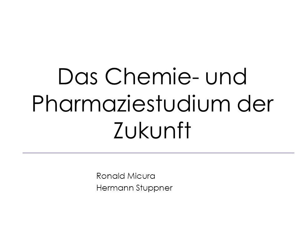Das Chemie- und Pharmaziestudium der Zukunft