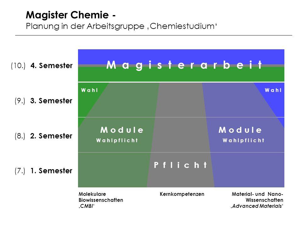 M a g i s t e r a r b e i t Magister Chemie -
